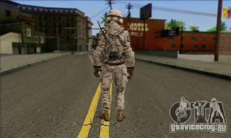 Task Force 141 (CoD: MW 2) Skin 5 для GTA San Andreas второй скриншот