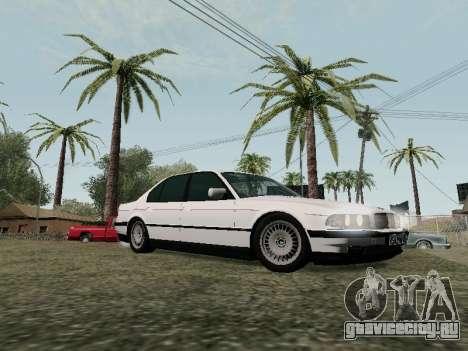 BMW 760i E38 для GTA San Andreas вид сбоку
