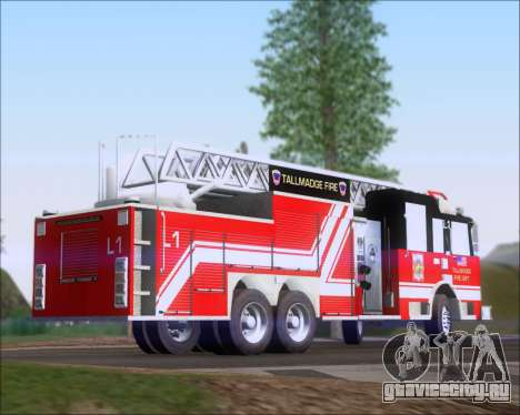 Pierce Arrow XT TFD Ladder 1 для GTA San Andreas вид слева