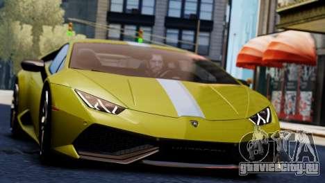 Lamborghini Huracan LP610-2 Valentino Balboni для GTA 4 вид сзади слева
