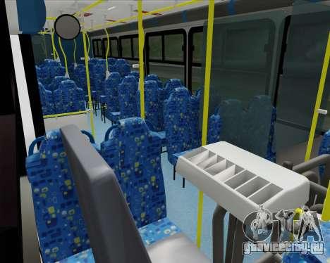 Caio Induscar Apache S21 Volksbus 17-210 Manaus для GTA San Andreas вид сбоку