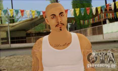 Vagos from GTA 5 Skin 2 для GTA San Andreas третий скриншот