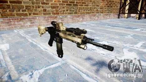 Автоматический карабин Colt M4A1 a tac au для GTA 4