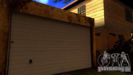 Новые HD текстуры домов на Гроув-стрит v2 для GTA San Andreas четвёртый скриншот