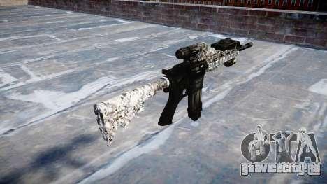 Автоматический карабин Colt M4A1 diamond для GTA 4 второй скриншот
