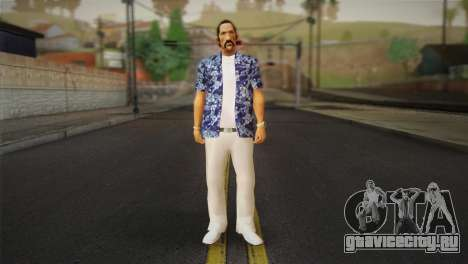 Vice City Style Ped для GTA San Andreas