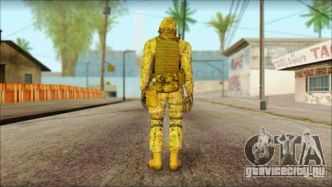 USA Soldier v2 для GTA San Andreas второй скриншот