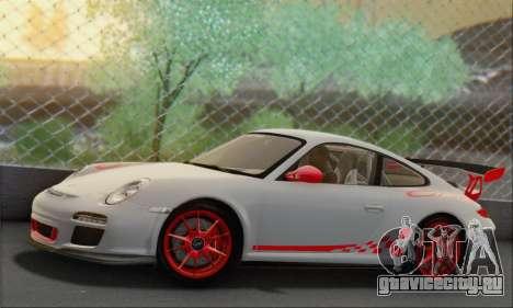 Porsche 911 GT3 2010 для GTA San Andreas вид слева