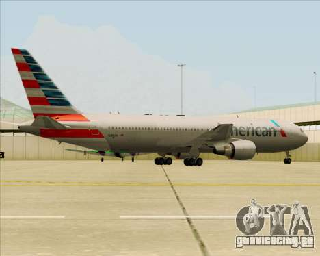 Boeing 767-323ER American Airlines для GTA San Andreas двигатель