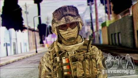 Рейнджер (CoD: MW2) v1 для GTA San Andreas третий скриншот