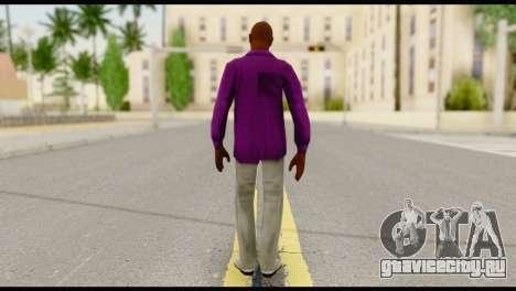 Purple Shirt Vic для GTA San Andreas второй скриншот