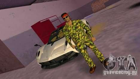Camo Skin 07 для GTA Vice City второй скриншот