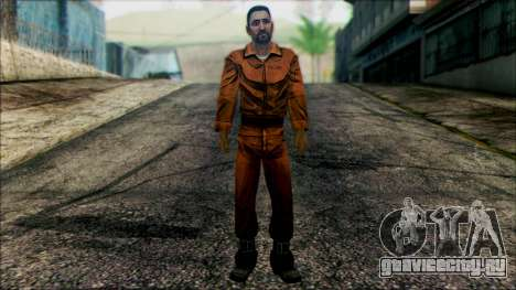 Danny from The Walking Dead: 400 Days для GTA San Andreas