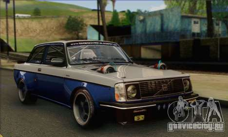 Volvo 242 V6 Twin Turbo 1983 - Stock для GTA San Andreas