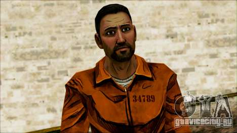 Danny from The Walking Dead: 400 Days для GTA San Andreas третий скриншот