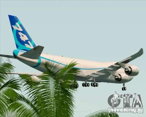 Boeing 747-8 Cargo House Livery для GTA San Andreas двигатель