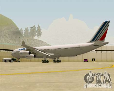 Airbus A340-313 Air France (New Livery) для GTA San Andreas вид справа