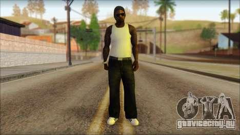 Afro - Seville Playaz Settlement Skin v6 для GTA San Andreas