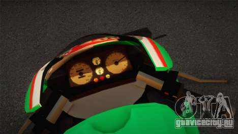 Bati RR 801 Stronzo для GTA San Andreas вид сзади слева