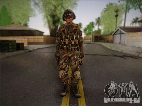 Боец СВР (Tom Clancy Splinter Cell) v2 для GTA San Andreas