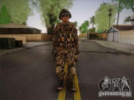 Боец СВР (Tom Clancy Splinter Cell) v2 для GTA San Andreas