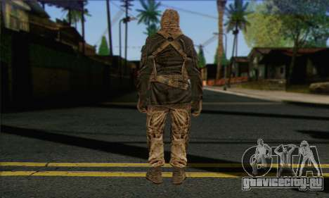 Task Force 141 (CoD: MW 2) Skin 18 для GTA San Andreas второй скриншот