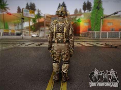 Боец СВР (Tom Clancy Splinter Cell) v2 для GTA San Andreas второй скриншот
