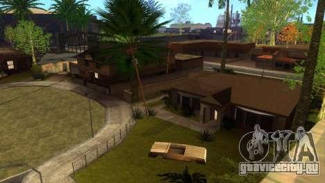 Новые HD текстуры домов на Гроув-стрит v2 для GTA San Andreas двенадцатый скриншот