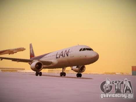 Airbus A320-214 LAN Airlines для GTA San Andreas