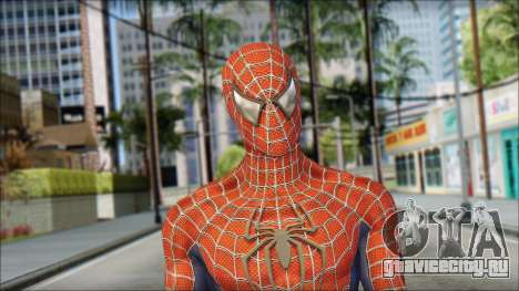 Red Trilogy Spider Man для GTA San Andreas третий скриншот