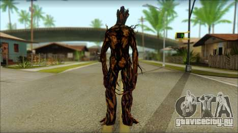 Guardians of the Galaxy Groot v2 для GTA San Andreas второй скриншот