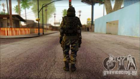 Солдат ЕС (AVA) v1 для GTA San Andreas второй скриншот