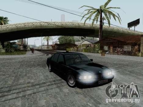 BMW 760i E38 для GTA San Andreas вид слева