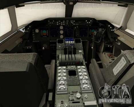 Boeing 747-8 Cargo House Livery для GTA San Andreas салон