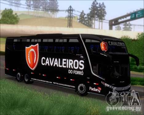 Marcopolo Paradiso G7 1600LD Scania K420 для GTA San Andreas вид слева