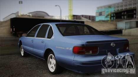 Chevrolet Impala 1996 для GTA San Andreas вид слева