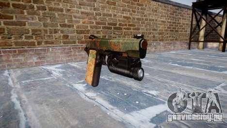 Пистолет Kimber 1911 Jungle для GTA 4