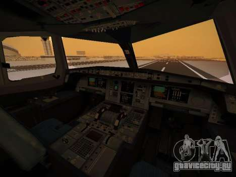 Airbus A380-800 Emirates Rugby World Cup для GTA San Andreas
