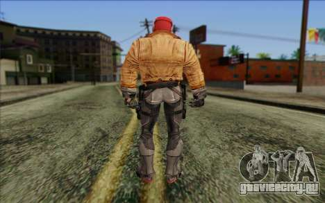 Red Hood from DC Comics для GTA San Andreas второй скриншот