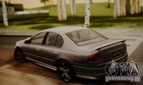 Ford Falcon XR8 для GTA San Andreas вид слева