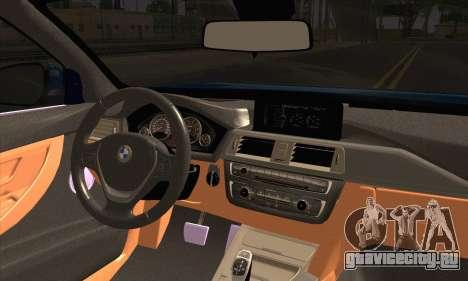 BMW 435i Stance для GTA San Andreas вид сзади слева