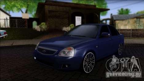 Lada 2170 Priora Black Atack для GTA San Andreas