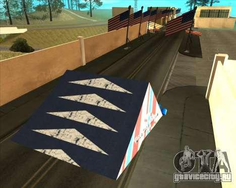 Sky Road Merdeka для GTA San Andreas шестой скриншот