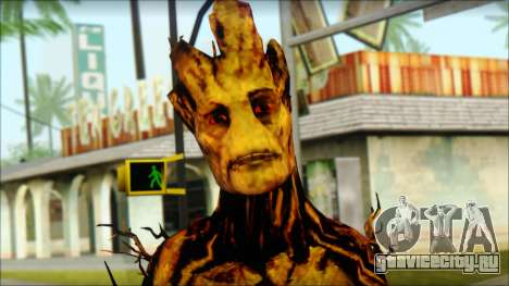 Guardians of the Galaxy Groot v2 для GTA San Andreas третий скриншот