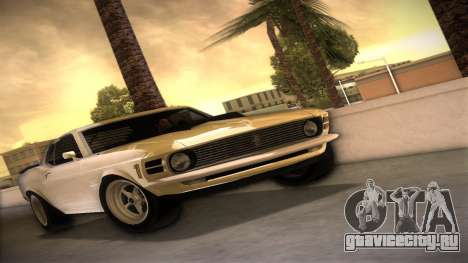 Ford Mustang 492 для GTA Vice City