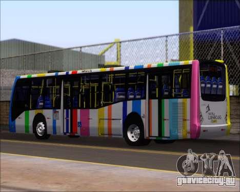 Caio Millennium II Volksbus 17-240 для GTA San Andreas вид справа