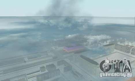 Снег для GTA Криминальная Россия beta 2 для GTA San Andreas
