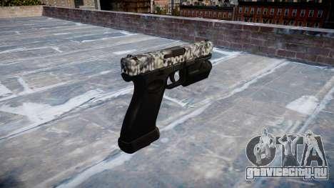 Пистолет Glock 20 diamond для GTA 4 второй скриншот
