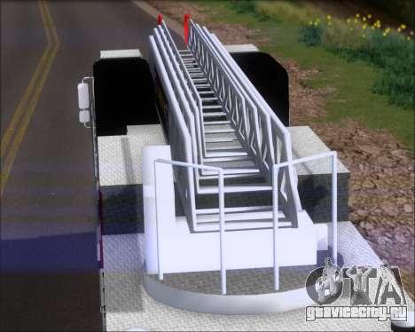 Pierce Arrow XT TFD Ladder 1 для GTA San Andreas вид сзади слева