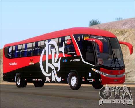 Marcopolo Paradiso 1200 G7 4X2 C.R.F Flamengo для GTA San Andreas вид сзади слева